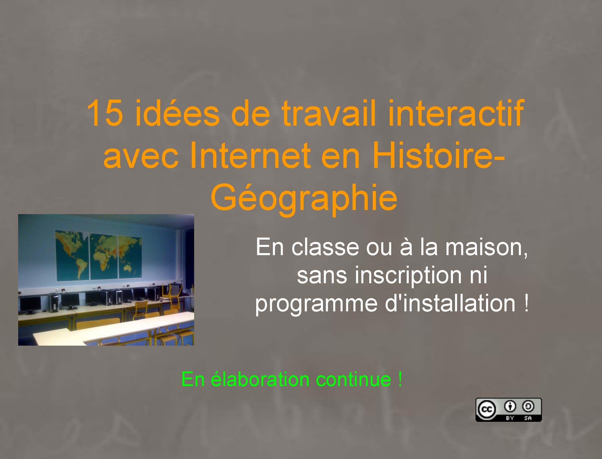 Site collaboratif for Idee de site internet