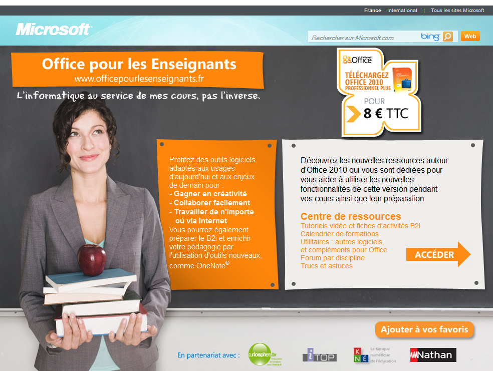 Microsoft office 2010 - Office professionnel 2010 ...