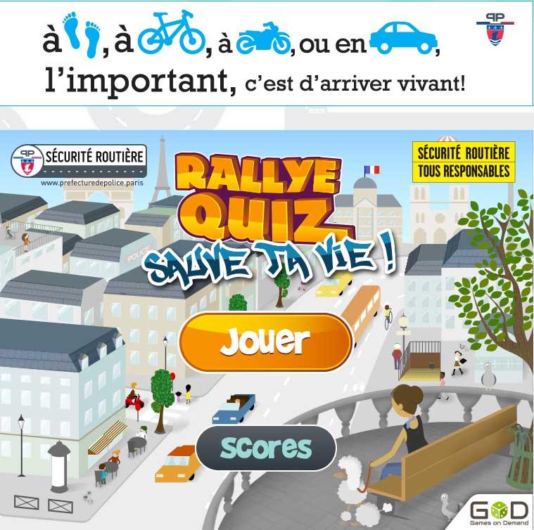 Rallye Quiz sécurité routière