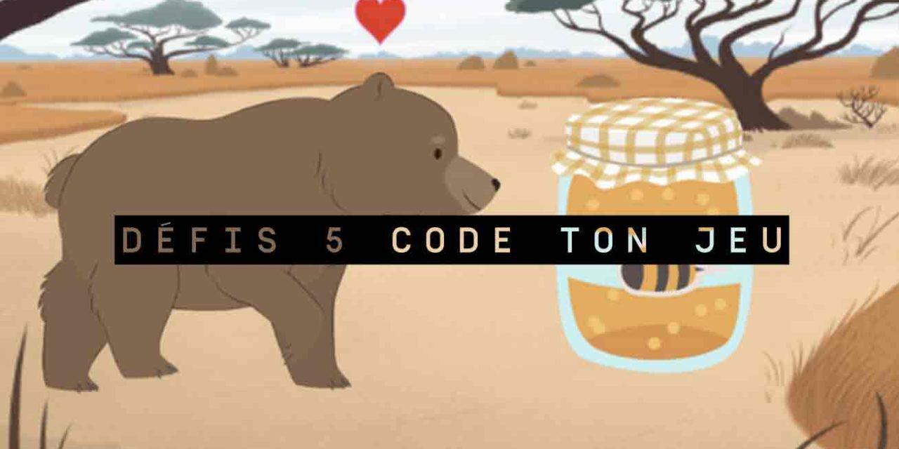 Défis 5 Code ton jeu avec Scratch